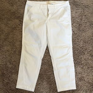 Anthropologie Relaxed Chinos